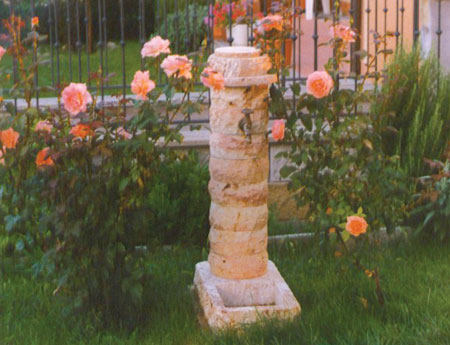 Fontane da giardino, fontana per esterno - Saxa